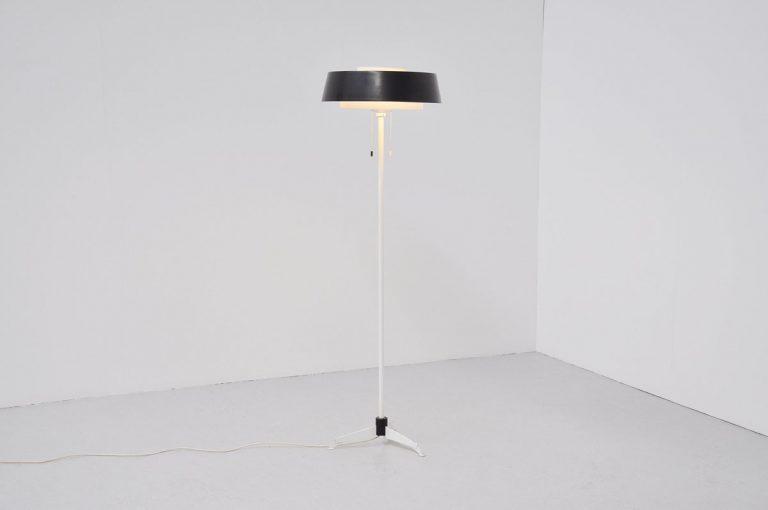 Hiemstra Evolux floor lamp 1955