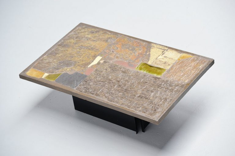 Paul Kingma rectangular coffee table Holland 1972