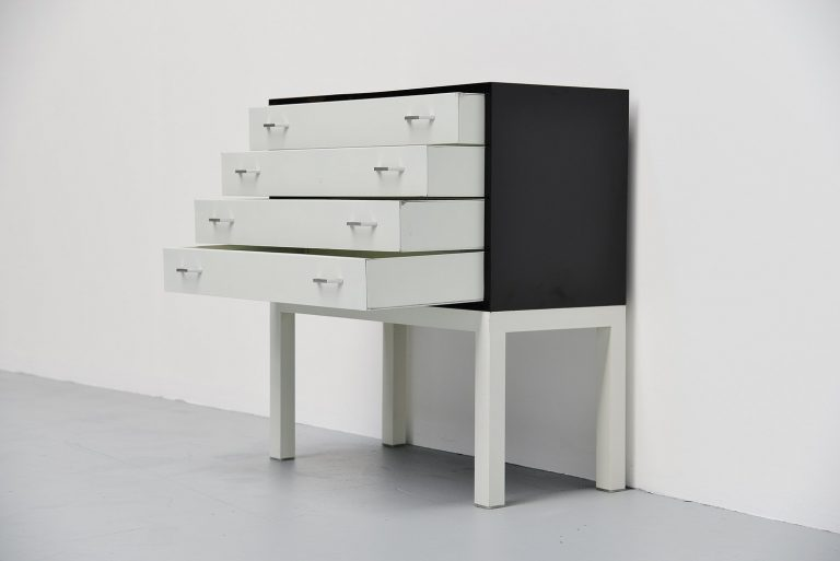 Pilastro chest of drawers by Tjerk Reijenga Holland 1960