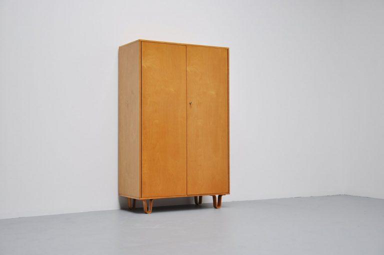 Pastoe wardrobe KB02 by Cees Braakman 1954