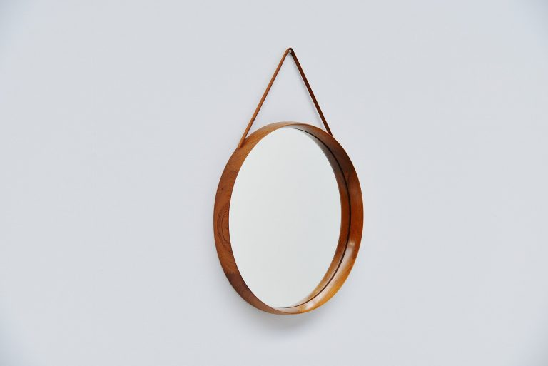 Uno and Osten Kristiansson Luxus wall mirror Sweden 1960