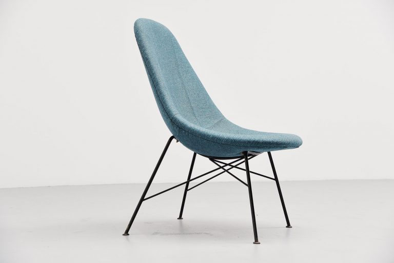 Miroslav Navratil high back chair Czech Republic 1950