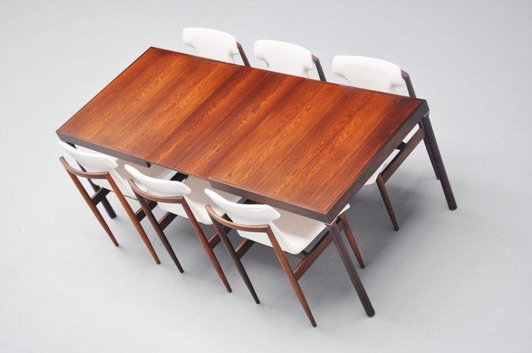 Inger Klingenberg dining table Fristho Franeker 1960