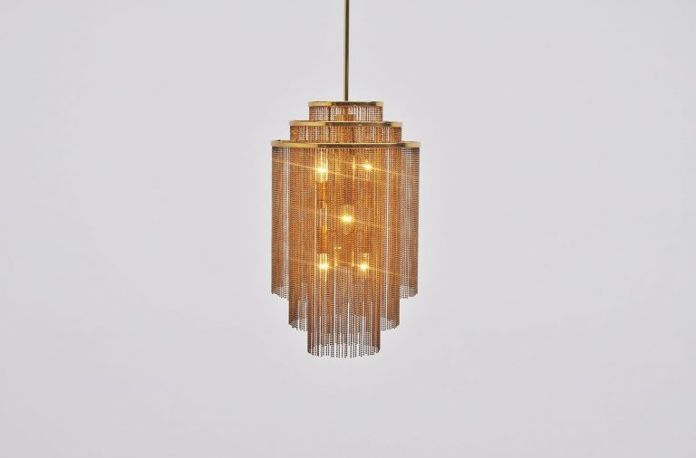 Kinkeldey pendant lamp made in Germany 1970