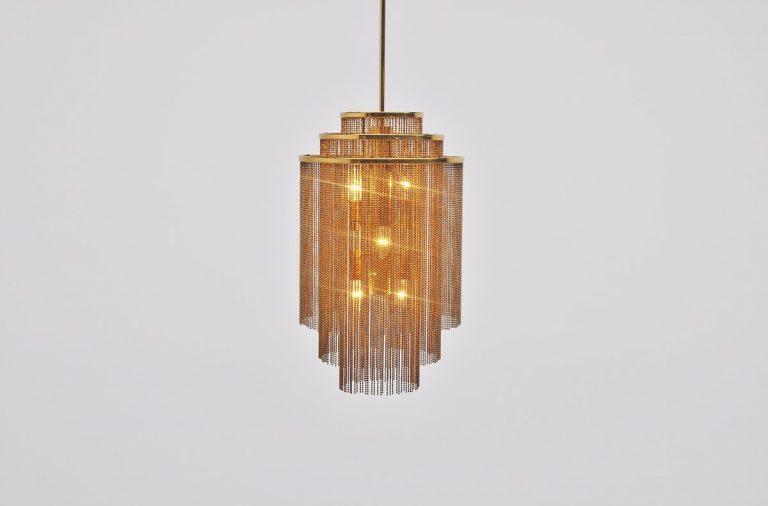 Kinkeldey pendant lamp made in Germany 1970