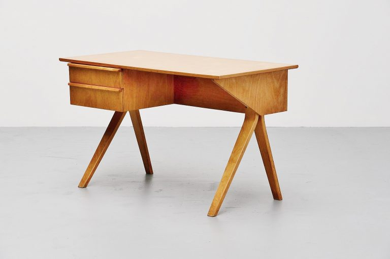Pastoe EB02 writing desk by Cees Braakman 1952