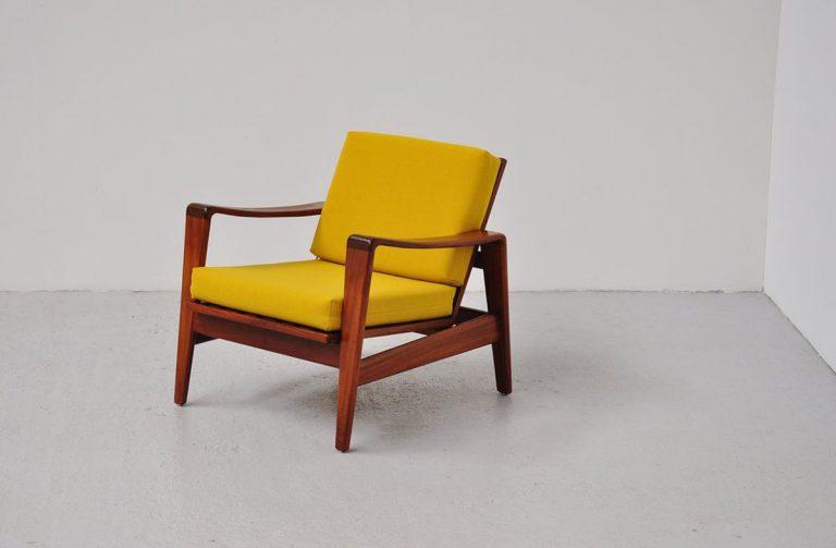 Arne Wahl Iversen easy chairs Komfort 1960