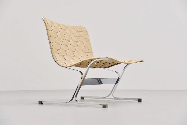 Ross Littell Luar lounge chair ICF Italy 1965