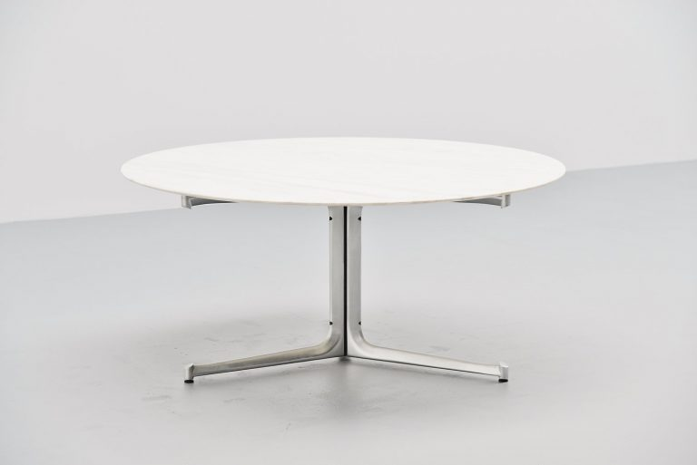 Preben Fabricius & Jorgen Kastholm dining table Germany 1968