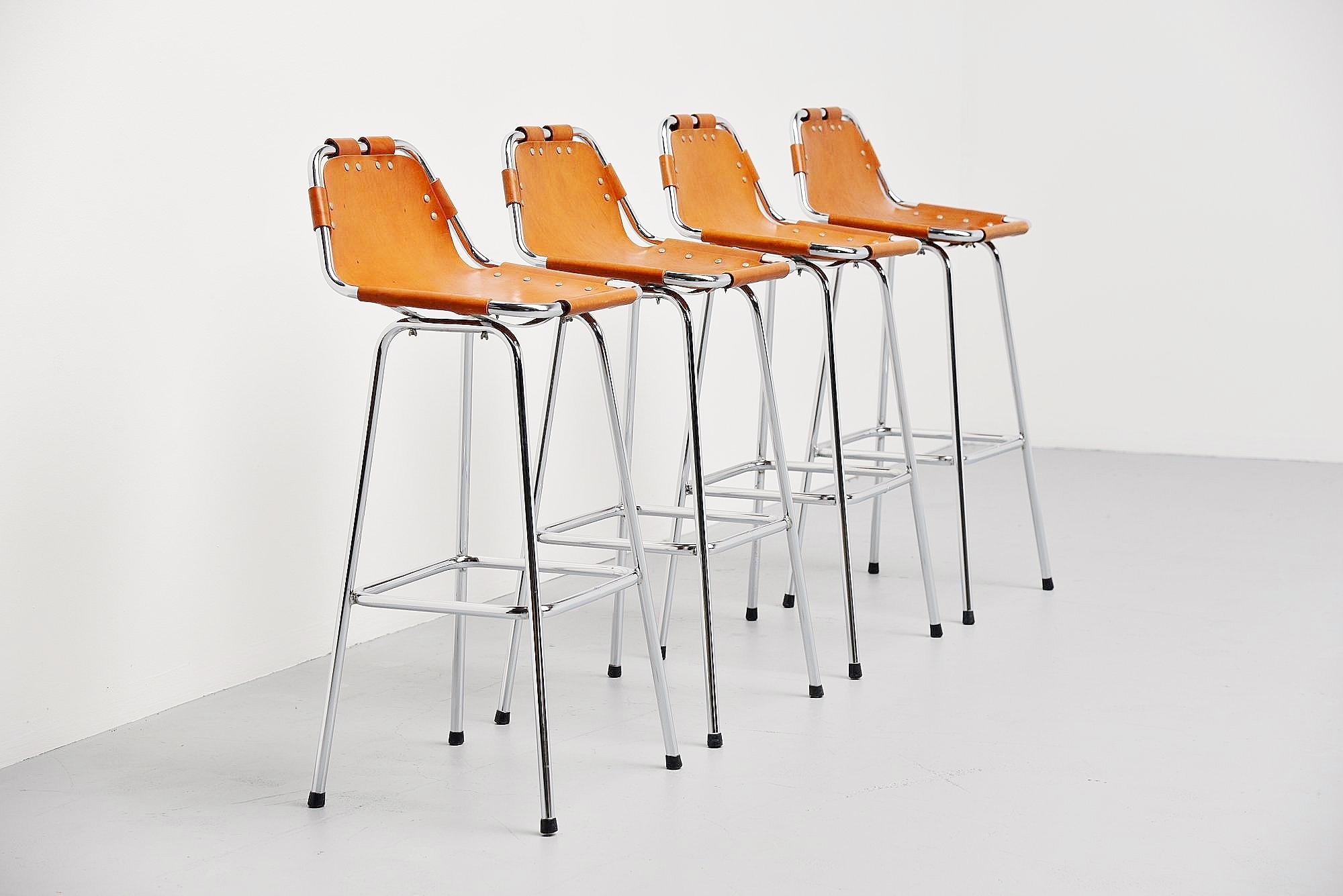 Charlotte Perriand Bar Stools Les Arcs 1960 Massmoderndesign