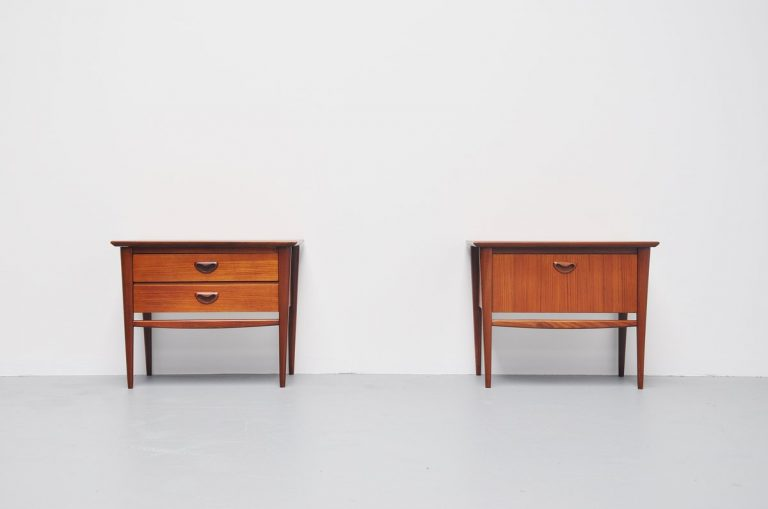 Webe night stands by Louis van Teeffelen Holland 1960