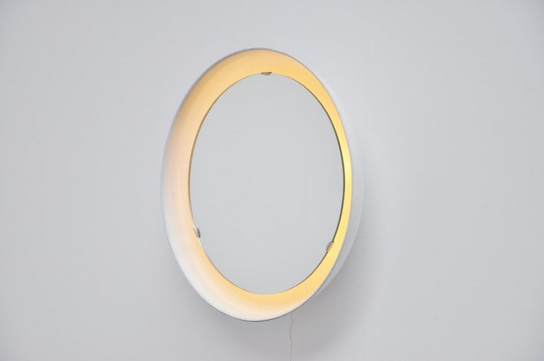 Arne Jacobsen mirror Louis Poulsen 1965
