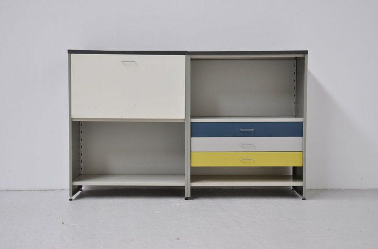 Andre Cordemeijer Gispen 5600 low cabinet 1962