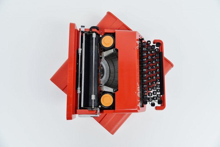 Ettore Sottsass Olivetti Valentine typewriter Italy 1969