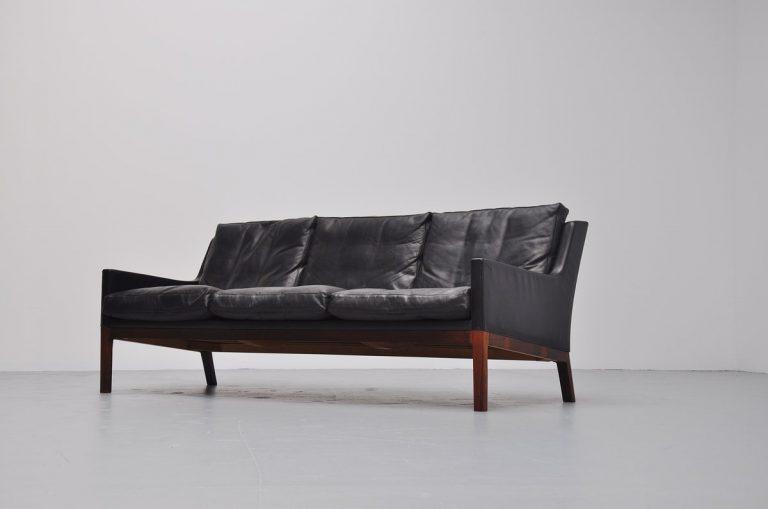 Kaj Lyngfeldt Larsen lounge sofa for Søren Willadsen Denmark 1960