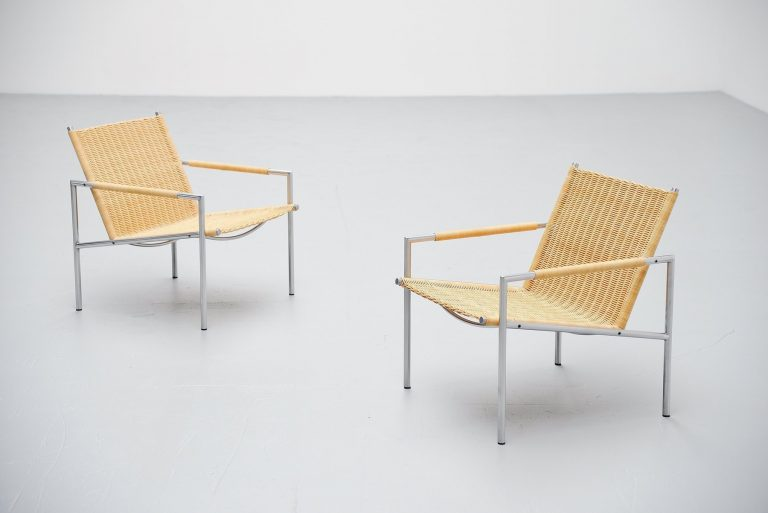 Martin Visser SZ01 easy chairs 't Spectrum Holland 1965