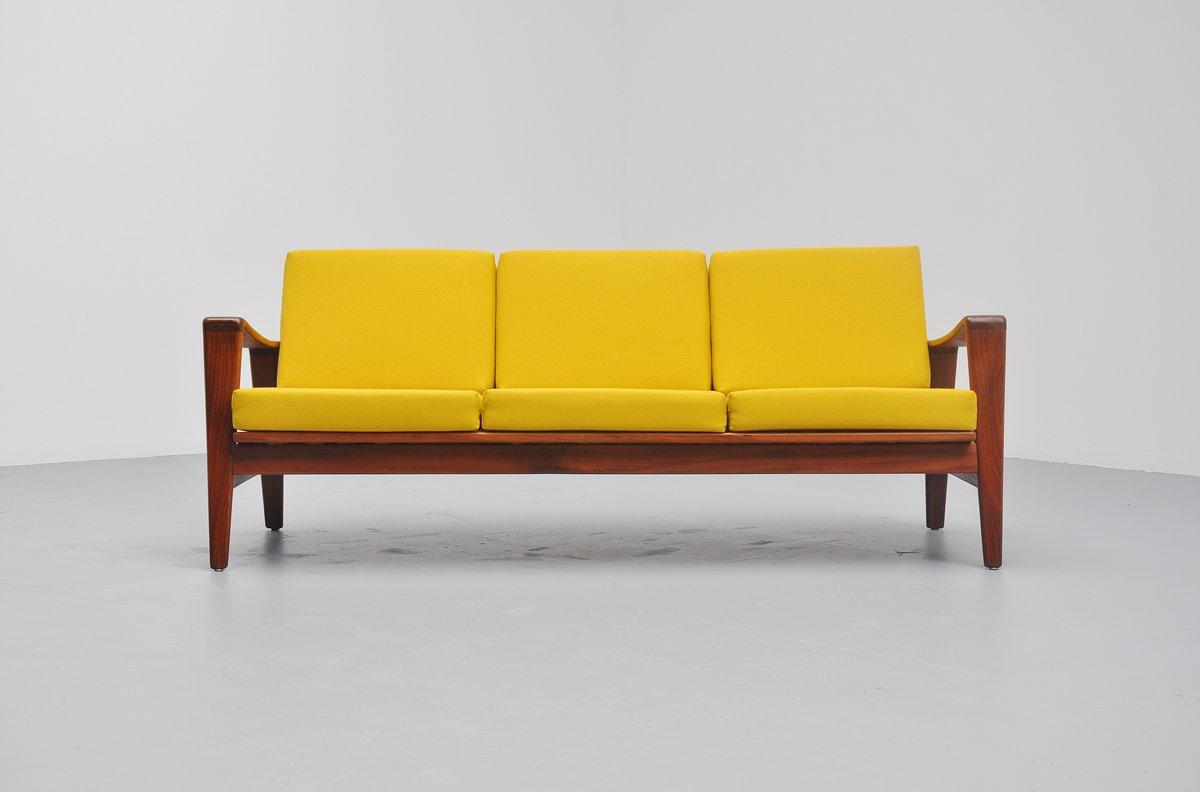 Arne Wahl Iversen lounge sofa Komfort Denmark 1960 – MassModernDesign