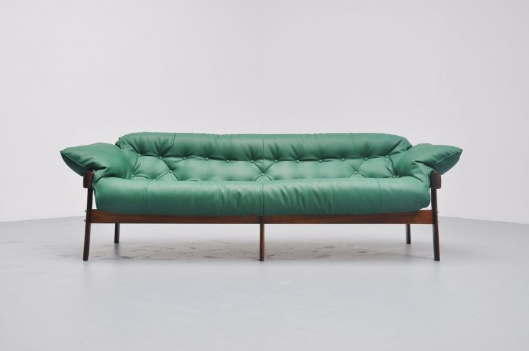 Percival Lafer lounge sofa Brazil 1960