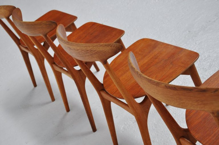 Kurt Ostervig chairs Denmark 1960