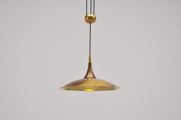 Florian Schulz Onos 40 ceiling lamp Germany 1970