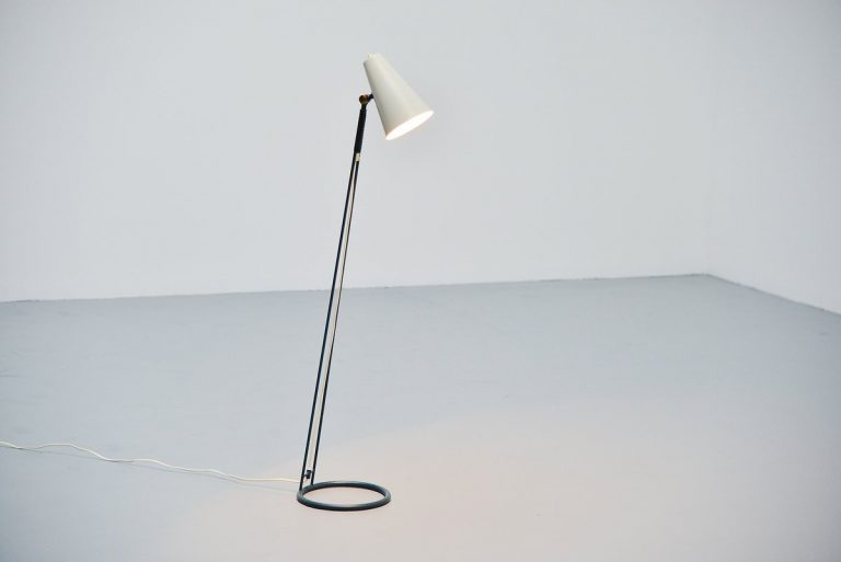 Asea floorlamp adjustable Sweden 1950