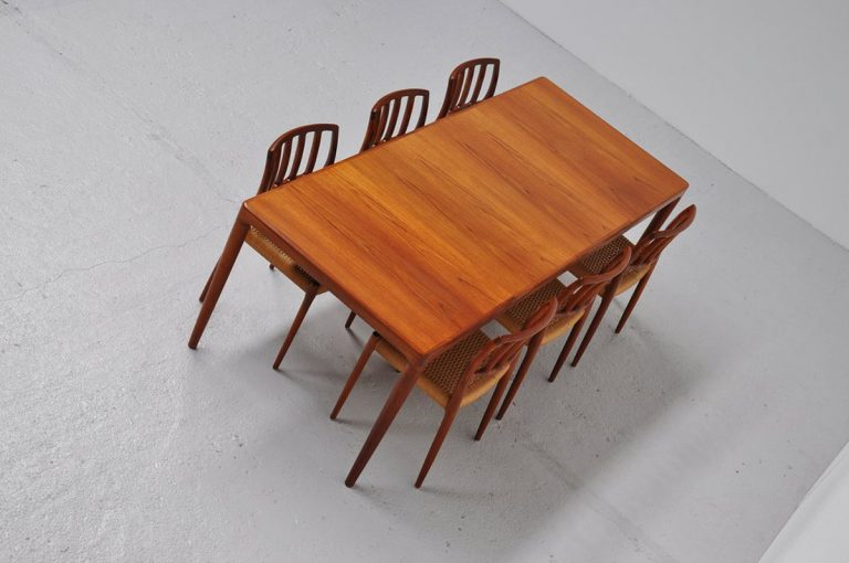 Bramin HW Klein long dining table 1960