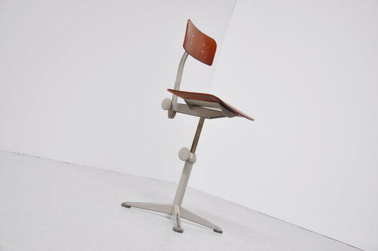 Friso Kramer drafting chair Ahrend 1963