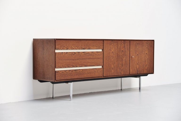 Fristho sideboard in wenge wood by Bernd Glatzel 1965