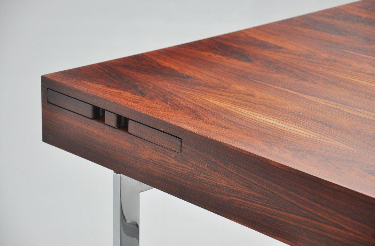 Rosewood Conference Desk In The Manner Of Bodil Kjaer