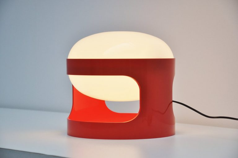 Joe Colombo KD 27 table lamp for Kartell 1964