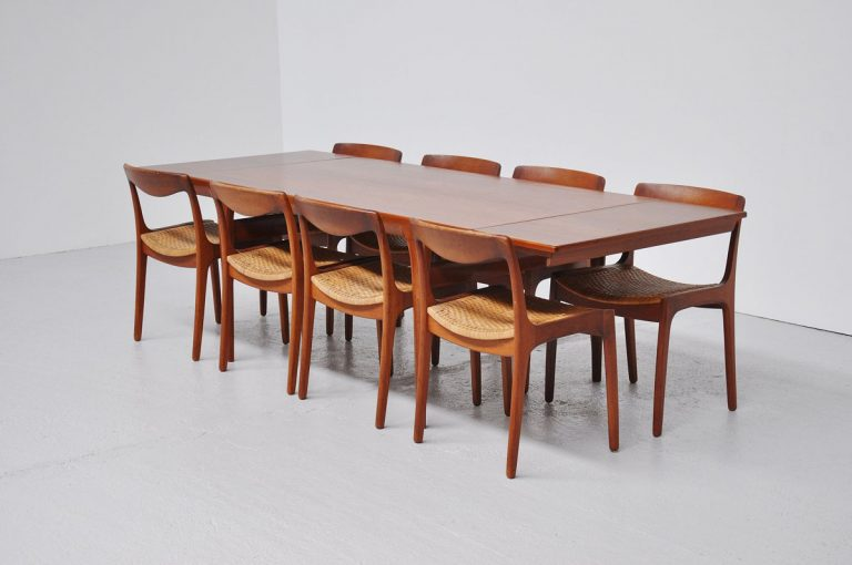 Johannes Andersen teak dining table 1960