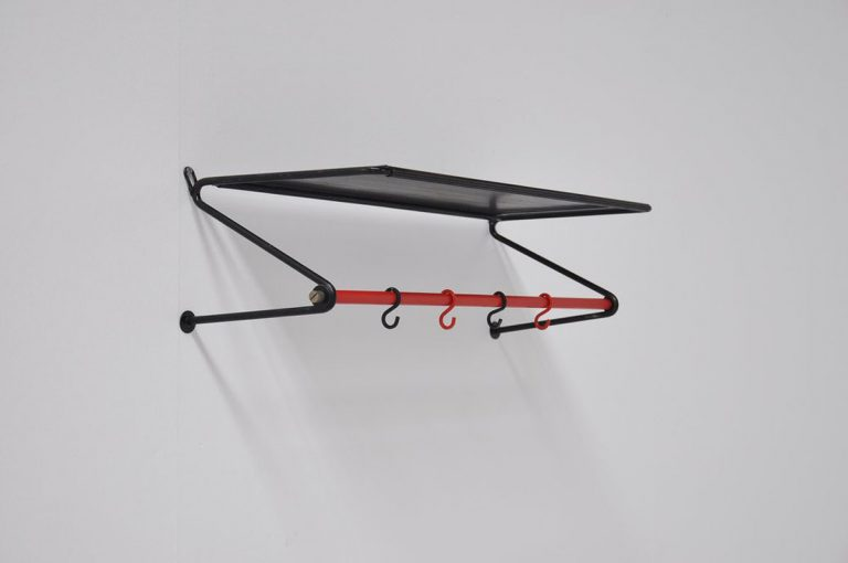 Mathieu Mategot coat rack Artimeta 1950