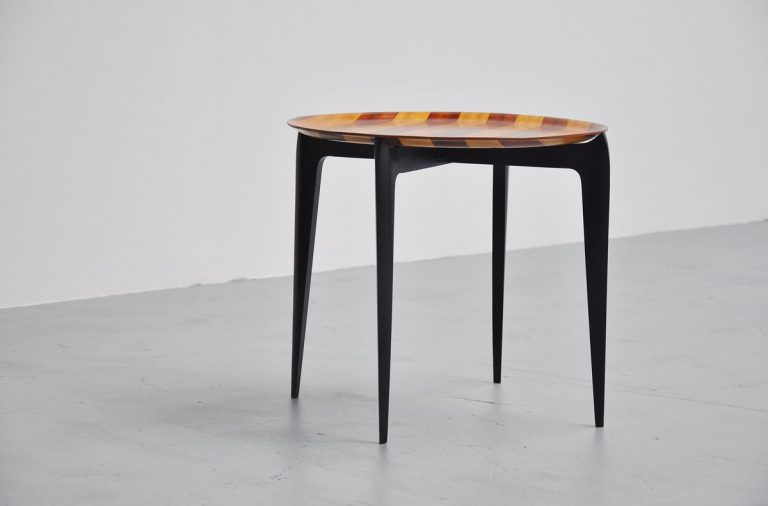 Engholm folding table with Impala top 1957