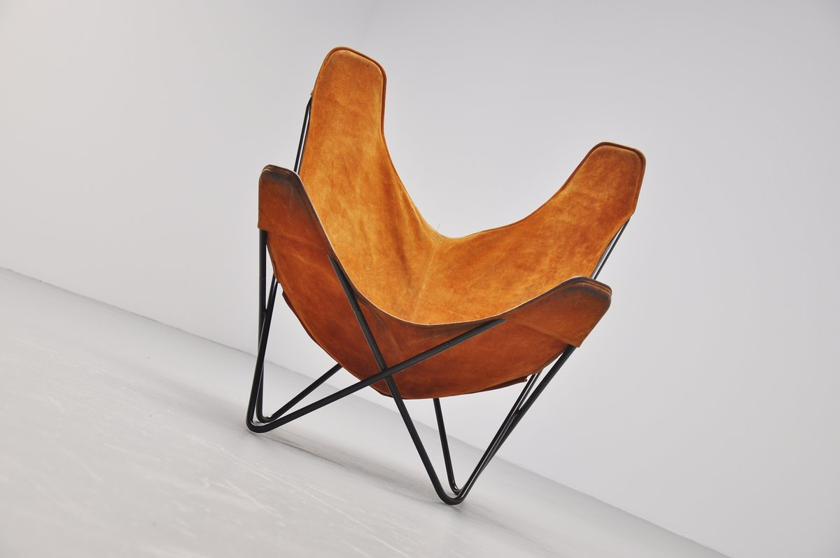 Butterfly Chair By Jorge Hardoy Ferrari For Knoll 1970