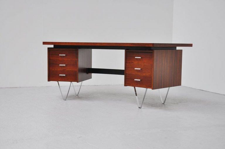 Pastoe desk Cees Braakman boomerang 1960