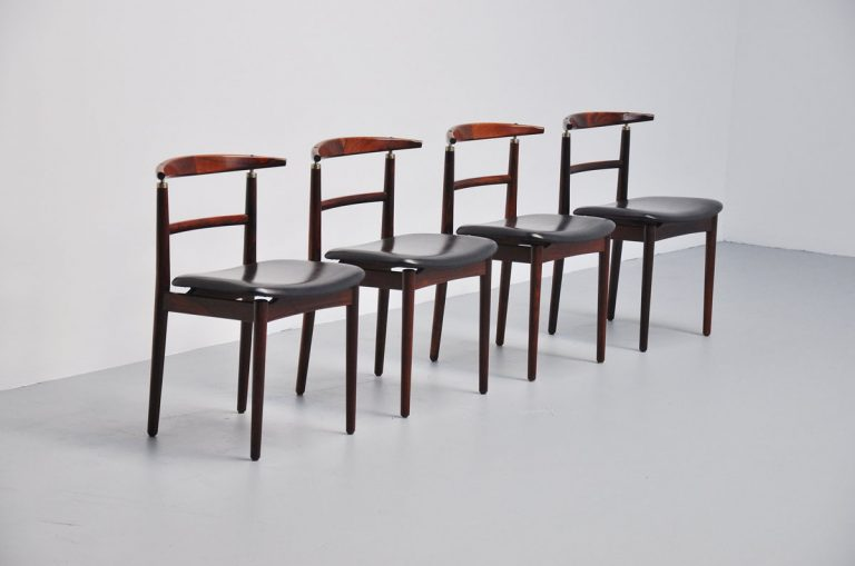 Helge Sibast dining chairs Sibast 1963