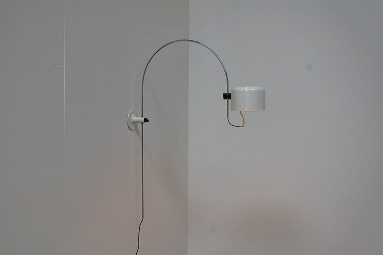 Joe Colombo Coupe wall lamp Oluce 1967