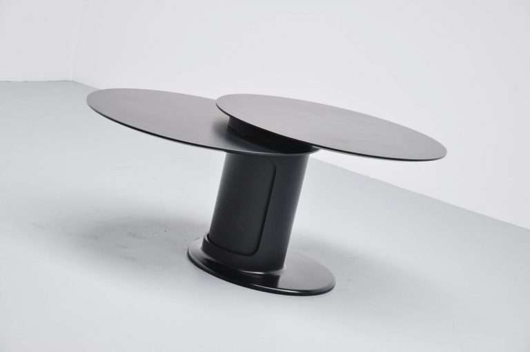 Italian dining / bar table with revolving top 1970