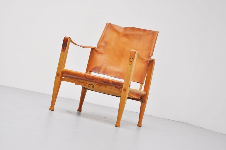 Kaare Klint safari chair for Rud Rasmussen 1937