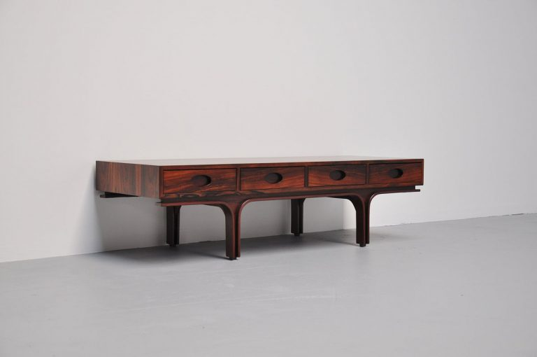 Gianfranco Frattini low sideboard by Bernini, Italy 1956