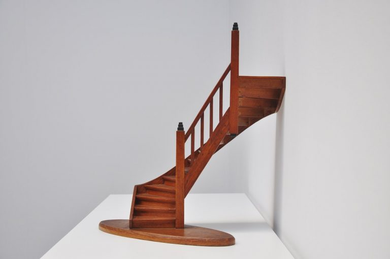 Dutch miniature staircase model Holland 1920