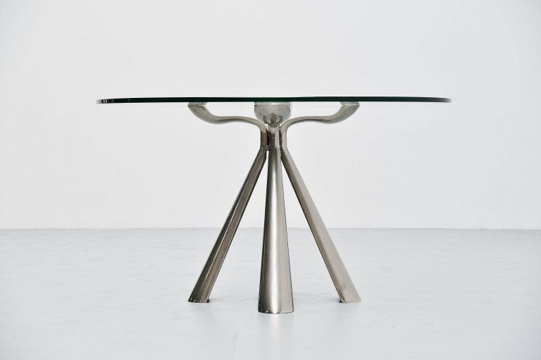 Vittorio Introini center dining table Saporiti Italia 1972