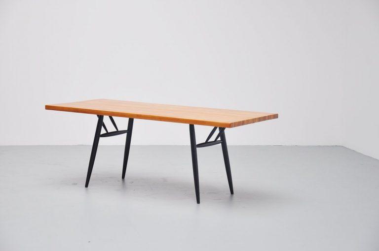 Ilmari Tapiovaara Laukaan Puu dining table Finland 1955