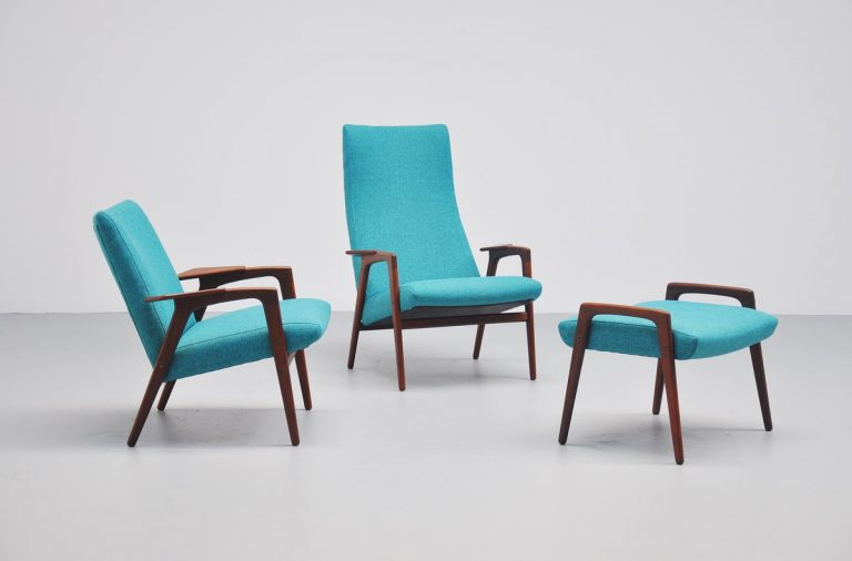 Yngve Ekstrom Ruster seating set for Pastoe 1960