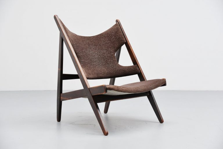 Ib Kofod Larsen Knitting chair Christensen and Larsen 1950