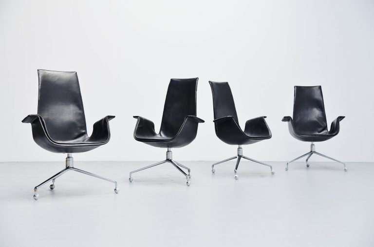 Preben Fabricius Jorgen Kastholm bird chairs Kill 1964