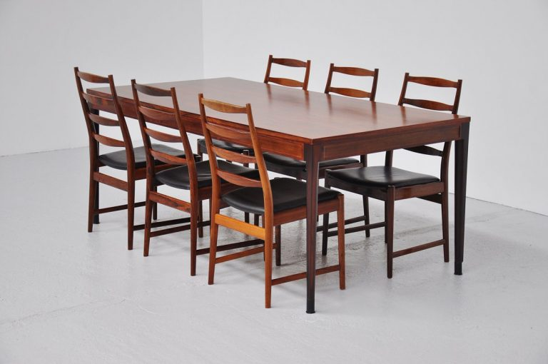 Finn Juhl Diplomat table France & Son 1962