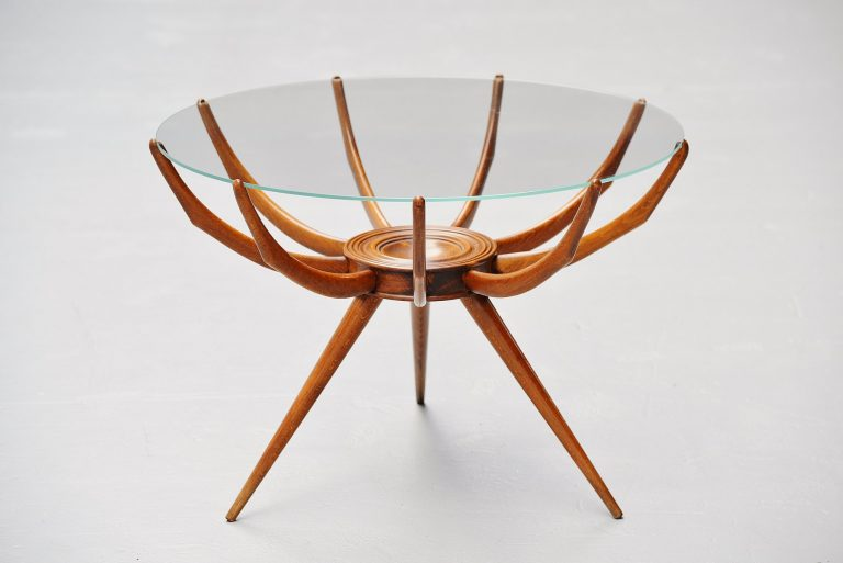 Carlo de Carli Ragno coffee table Italy 1950