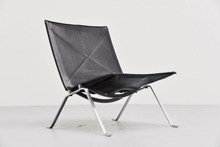 Poul Kjaerholm PK22 lounge chair E Kold Christensen 1956