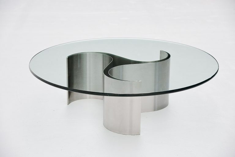 Patrice Maffei coffee table by Kappa France 1971